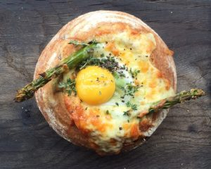 Breakfast in Bread