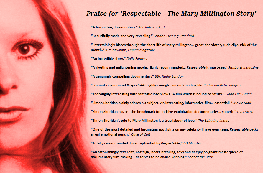 Mary Millington Respectable Review